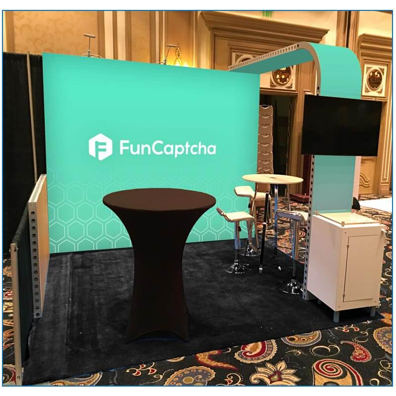 10x10 Booth Rental Package 100 - FunCaptcha