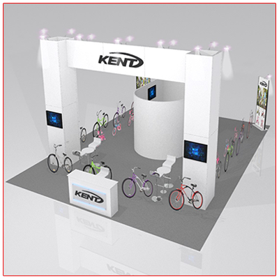 Larger Booth Rentals