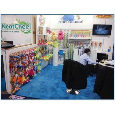Petite Creations - 10x10 Trade Show Booth Rental Package 106