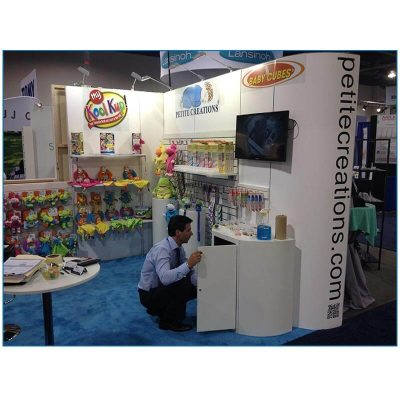 Petite Creations - 10x10 Trade Show Booth Rental Package 106 - ABC Kids Show
