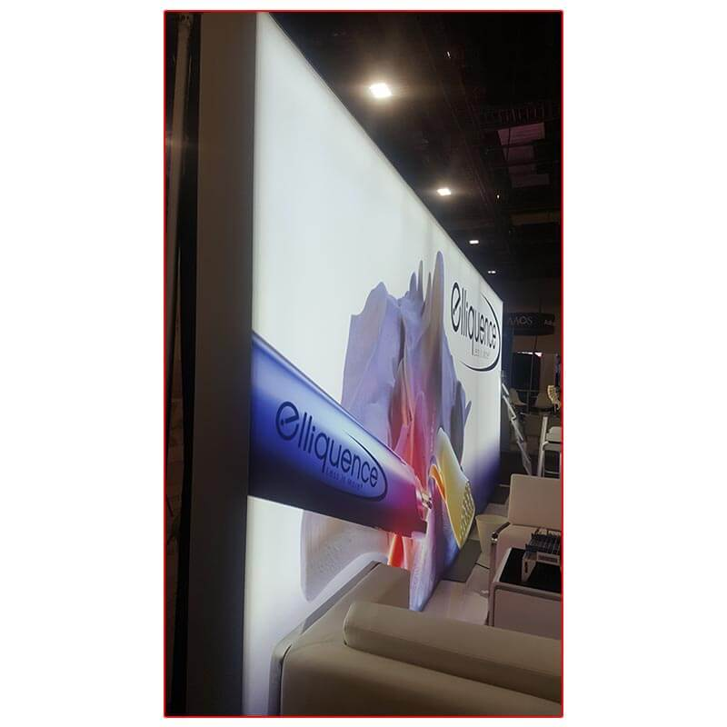 Elliquence - 10x20 Trade Show Booth Rental Package 202 - Lightbox - LV Exhibit Rentals in Las Vegas