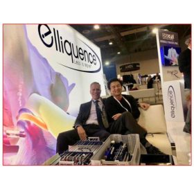 Elliquence - 10x20 Trade Show Booth Rental Package 202 - Lightbox - Smiles by Design - LV Exhibit Rentals in Las Vegas
