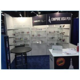 Empire USA Pen - 10x10 Trade Show Booth Rental Package 118 - LV Exhibit Rentals in Las Vegas