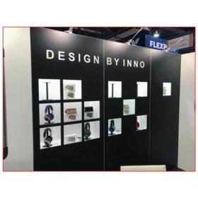 Inno Design - 10x20 Trade Show Booth Rental Package 214 - LV Exhibit Rentals in Las Vegas
