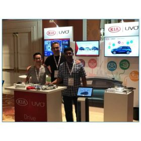 Kia - 10x10 Trade Show Booth Rental Package 115 - LV Exhibit Rentals in Las Vegas