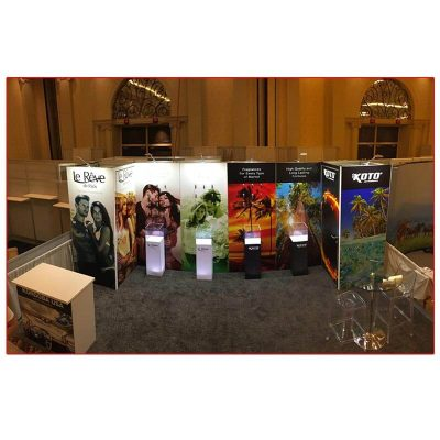 La Reve - 10x20 Trade Show Booth Rental Package 201