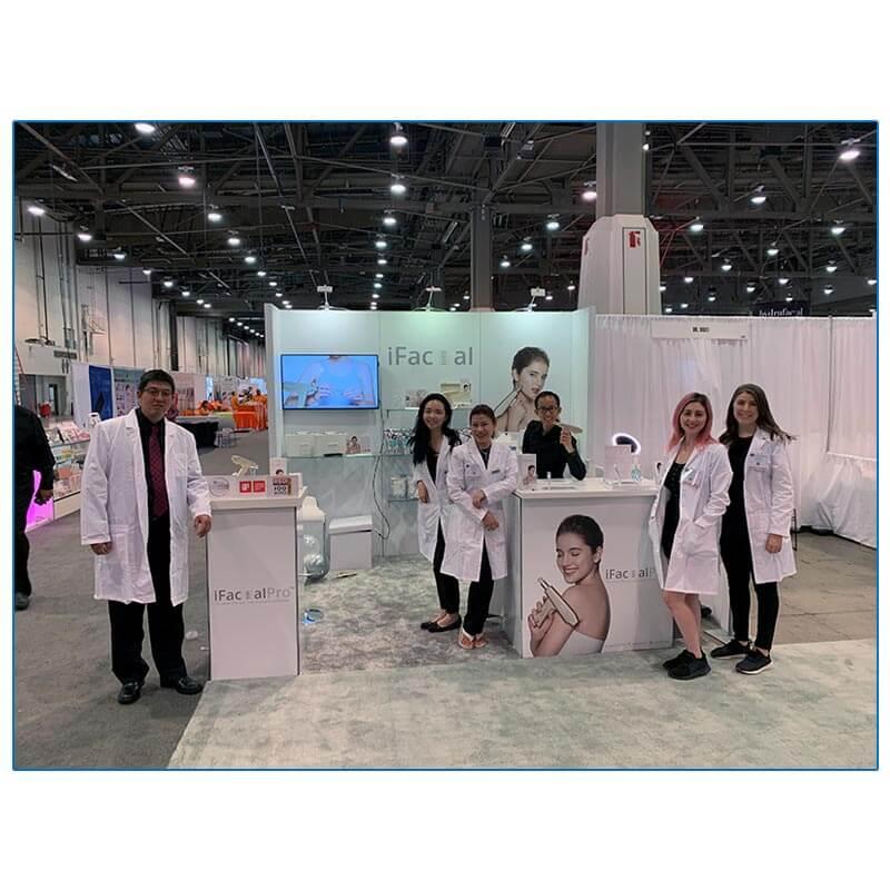 iFacial Pro - 10x10 Trade Show Rental Package 120 - Smiles by Design - LV Exhibit Rentals in Las Vegas