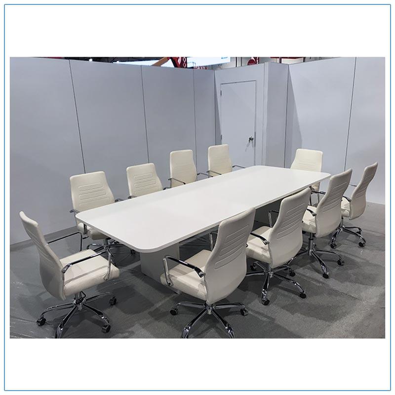 10ft Rectangular Conference Table - LV Exhibit Rentals in Las Vegas