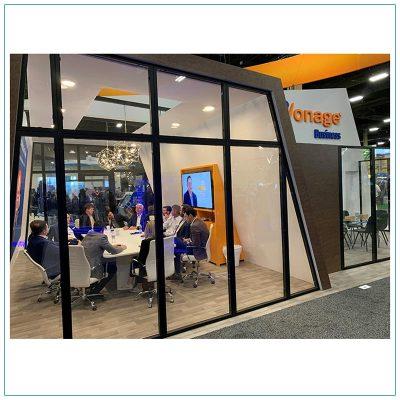 10ft Rectangular Conference Table - Vonage - LV Exhibit Rentals in Las Vegas
