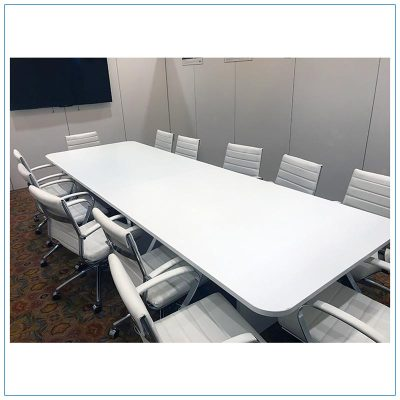 12ft Rectangular Conference Table - LV Exhibit Rentals in Las Vegas