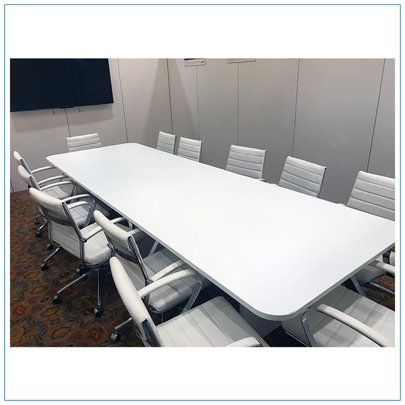 12ft Rectangular Conference Table - LV Exhibit Rentals in Las Vegas