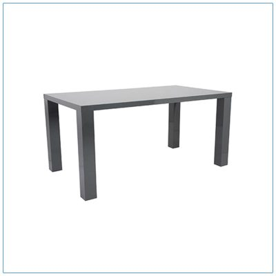 Abby 63in Conference Tables - Gray - LV Exhibit Rentals in Las Vegas