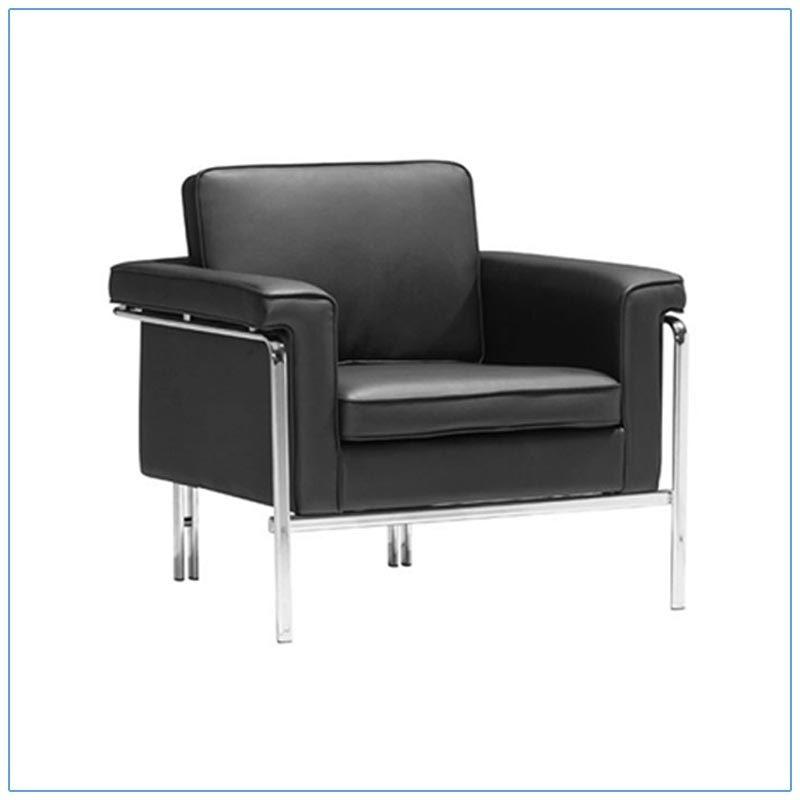 Amanda Lounge Chairs - Black - LV Exhibit Rentals in Las Vegas
