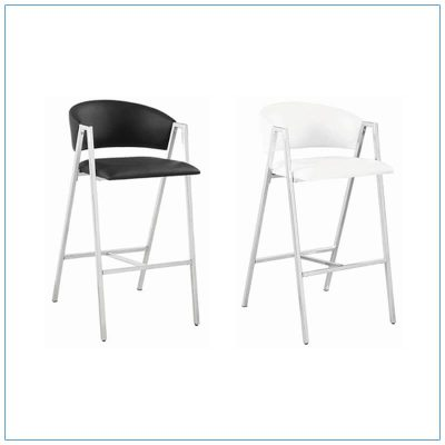 Amara Bar Stools - Trade Show Furniture Rentals from LV Exhibit Rentals in Las Vegas
