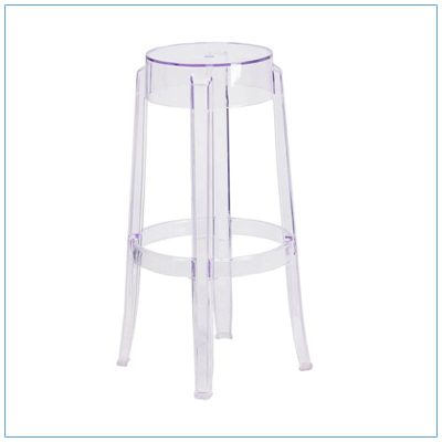 Ange Bar Stool - Trade Show Furniture Rentals from LV Exhibit Rentals in Las Vegas
