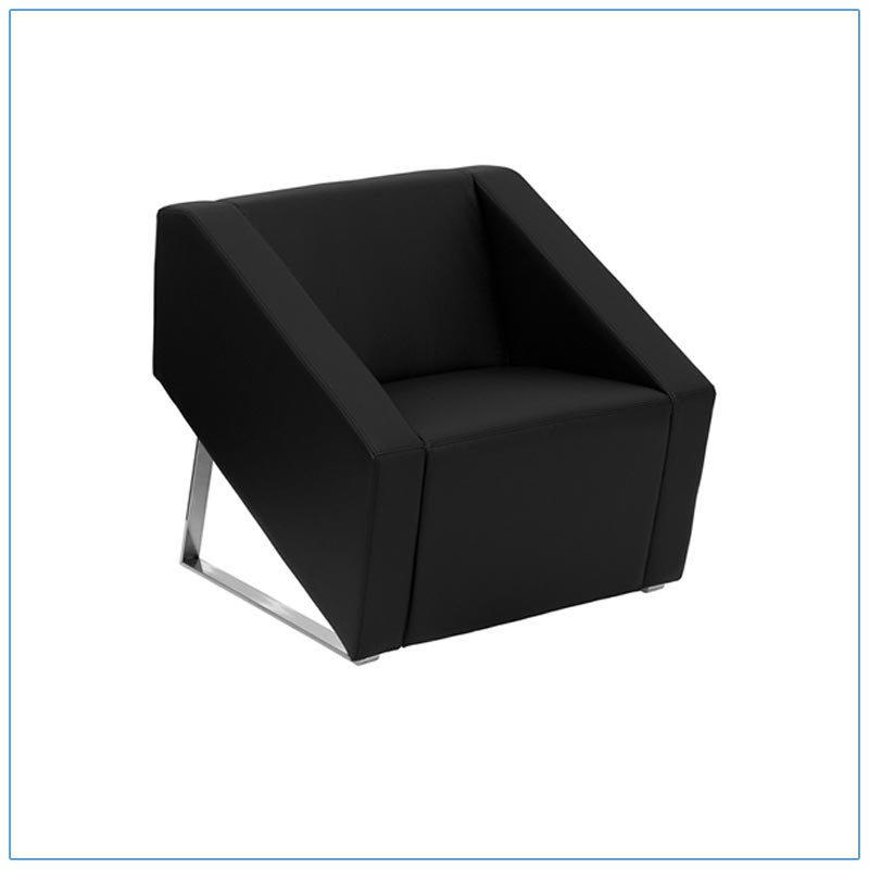 Angle Lounge Chairs - LV Exhibit Rentals in Las Vegas