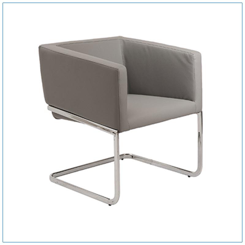 Ari Lounge Chairs - Gray - LV Exhibit Rentals in Las Vegas