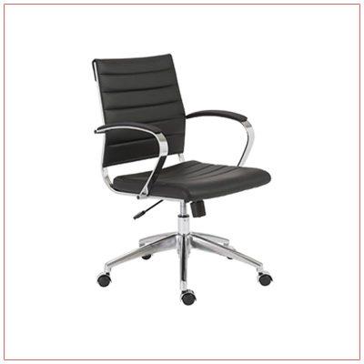 Axel Office Chairs - Black - LV Exhibit Rentals in Las Vegas