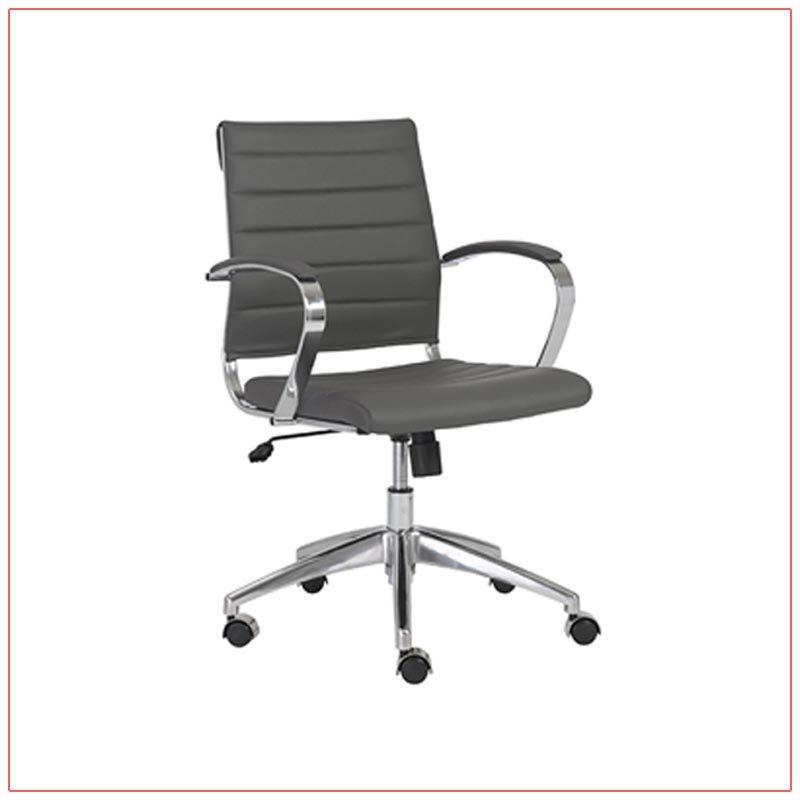 Axel Office Chairs - Gray - LV Exhibit Rentals in Las Vegas