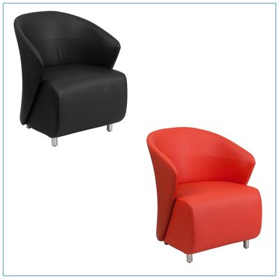 Barrel Lounge Chairs - LV Exhibit Rentals in Las Vegas