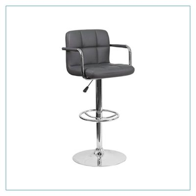 Bella Bar Stools - Gray - Trade Show Furniture Rentals from LV Exhibit Rentals in Las Vegas