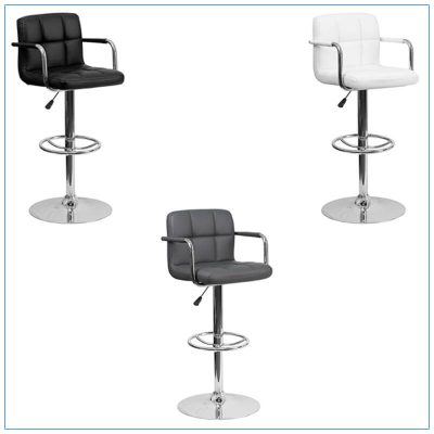 Bella Bar Stools - Trade Show Furniture Rentals from LV Exhibit Rentals in Las Vegas