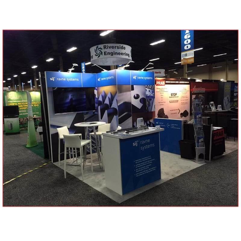 Bravo Bar Table - Ravne Systems - LV Exhibit Rentals in Las Vegas