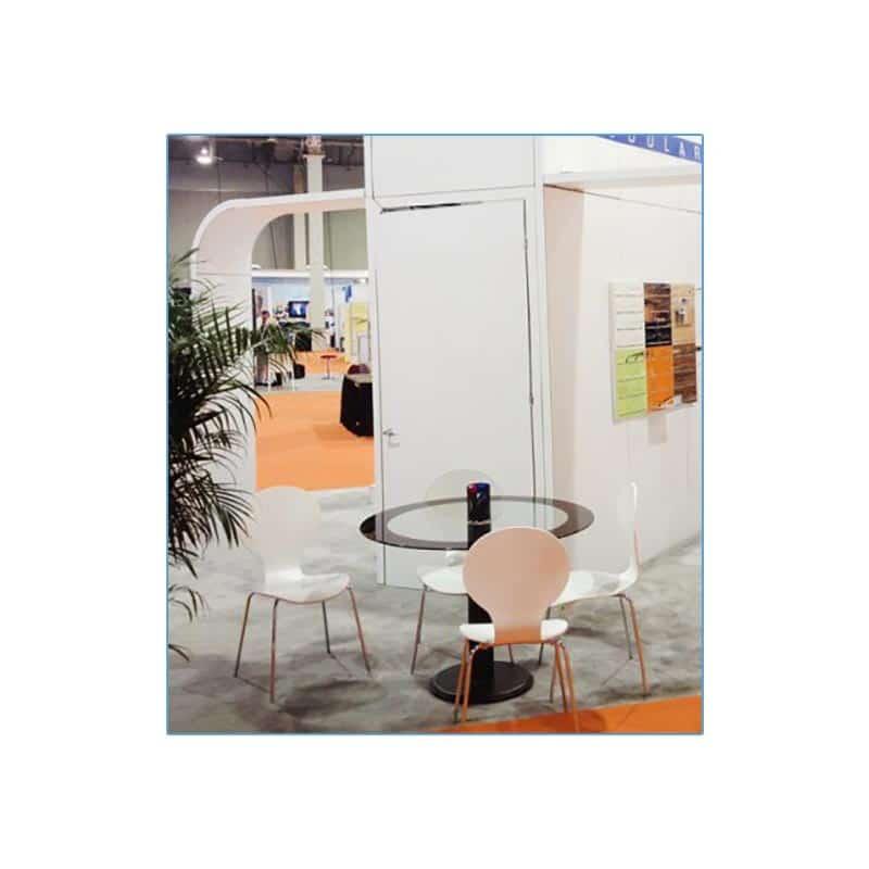 Bunny Chairs in White - LV Exhibit Rentals in Las Vegas