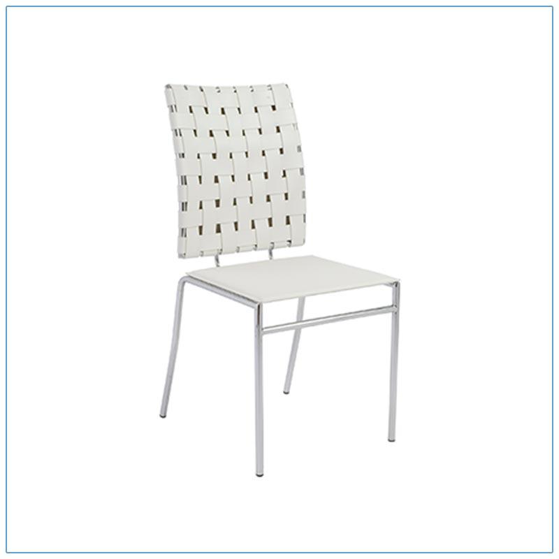 Carina Chairs - White - LV Exhibit Rentals in Las Vegas