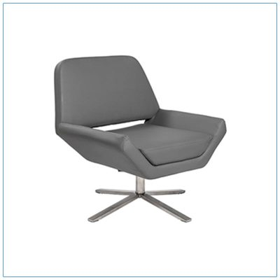 Carlotta Lounge Chairs - Gray - LV Exhibit Rentals in Las Vegas