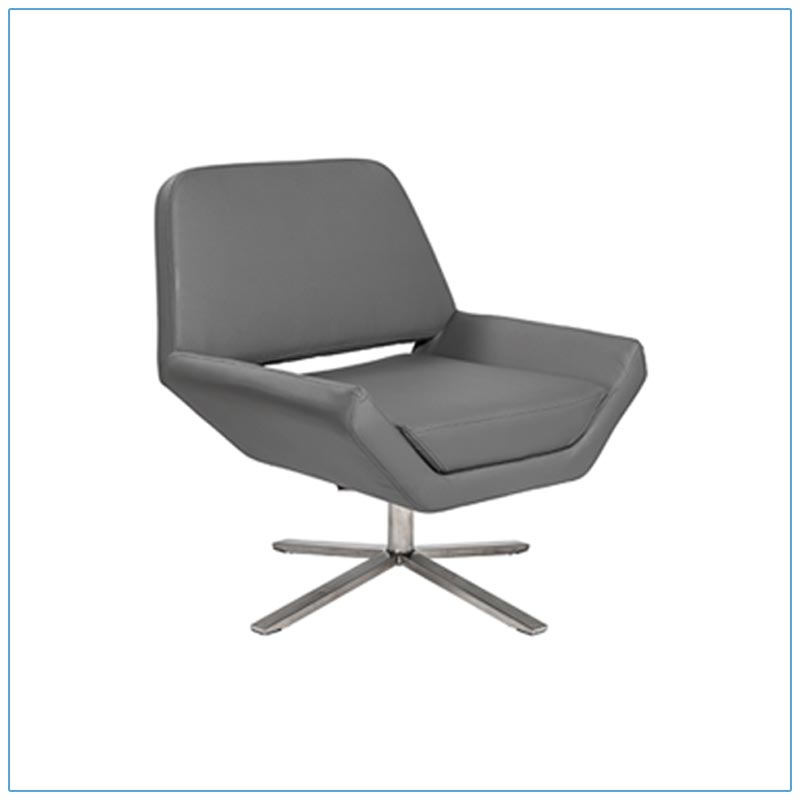 Carlotta Lounge Chairs - Gray - LV Exhibit Rentals in Las Vegas
