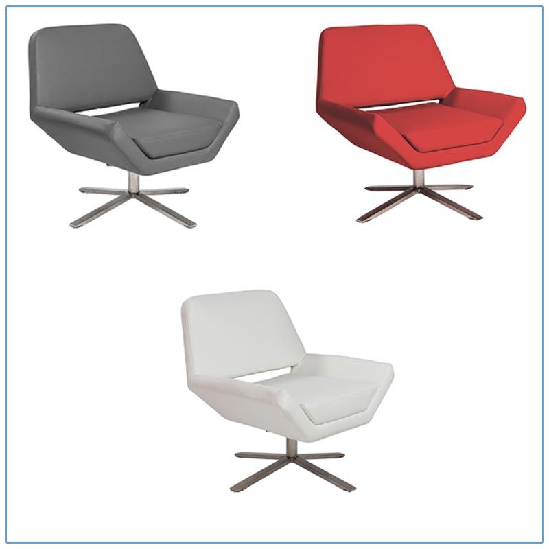 Carlotta Lounge Chairs - LV Exhibit Rentals in Las Vegas