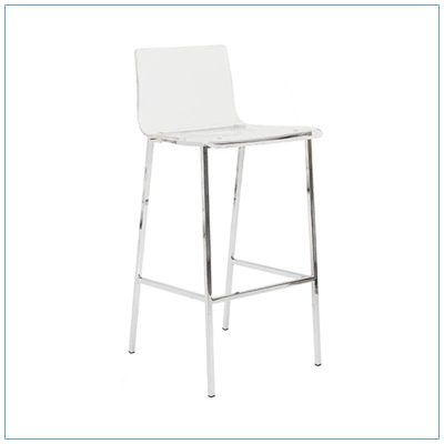 Chloe Bar Stool - Trade Show Furniture Rentals from LV Exhibit Rentals in Las Vegas