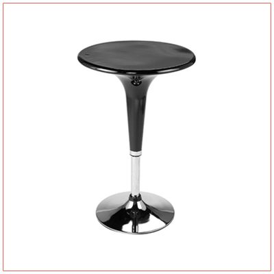 Clyde Bar Table - Black - LV Exhibit Rentals in Las Vegas