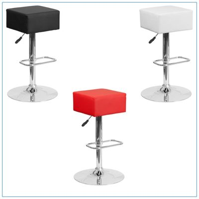 Cube Bar Stools - Trade Show Furniture Rentals from LV Exhibit Rentals in Las Vegas