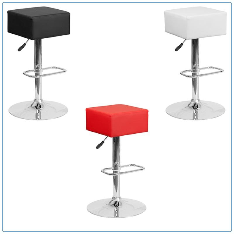 Cube Bar Stools - Trade Show Furniture Rentals from LV Exhibit Rentals in Las Vegas