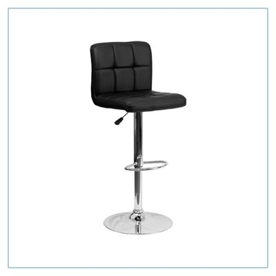 Cyd Bar Stools - Black - Trade Show Furniture Rentals from LV Exhibit Rentals in Las Vegas