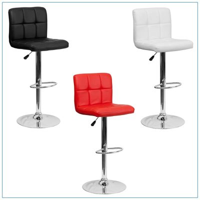 Cyd Bar Stools - Trade Show Furniture Rentals from LV Exhibit Rentals in Las Vegas