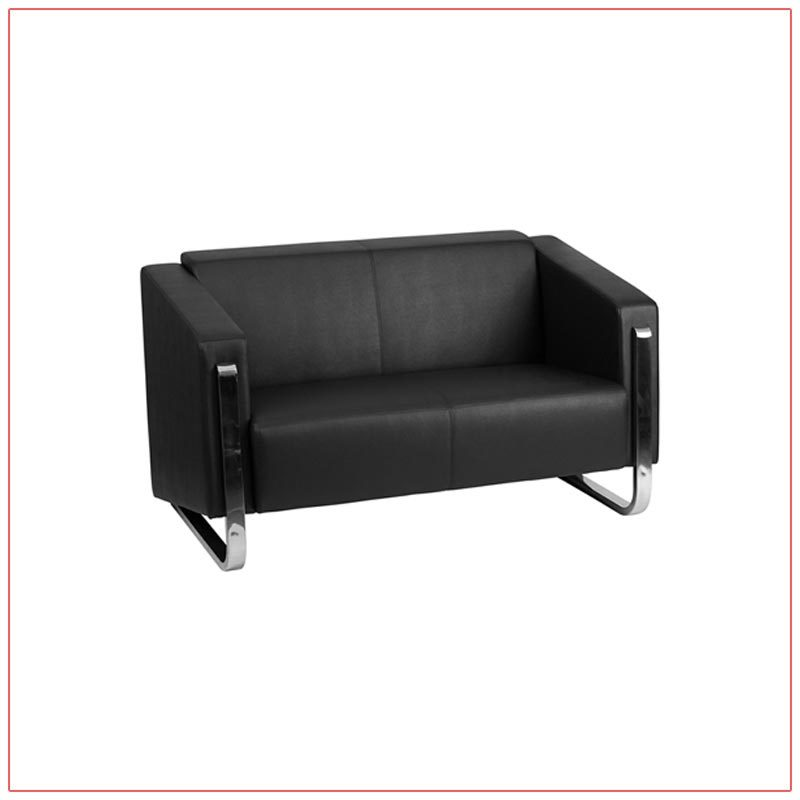 Deco Loveseat - LV Exhibit Rentals in Las Vegas