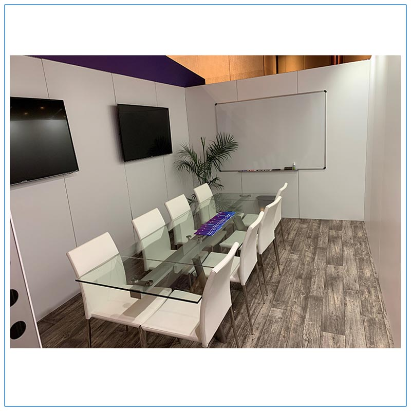 Delano 102in Conference Tables - Videoamp - LV Exhibit Rentals in Las Vegas