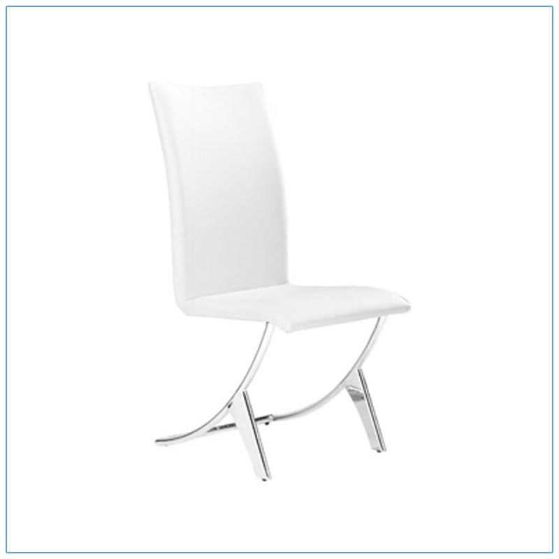 Delphin Chairs - White - LV Exhibit Rentals in Las Vegas