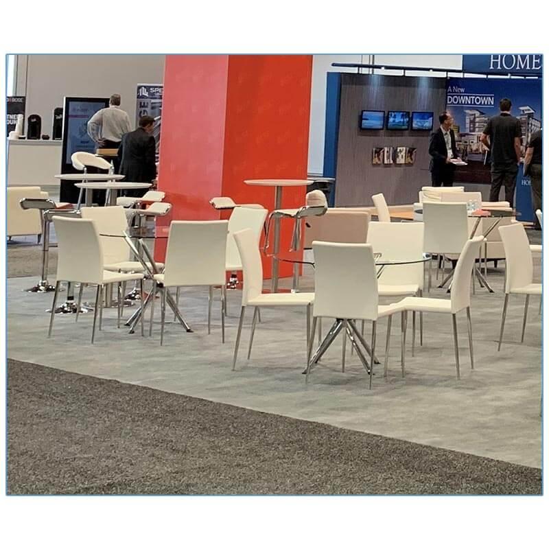 Diana Chairs - KSR Recon 2019 - LV Exhibit Rentals in Las Vegas