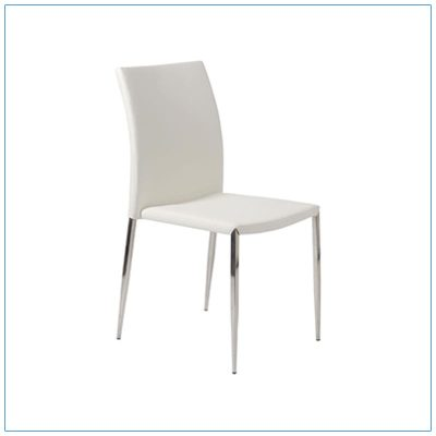 Diana Chairs - White - LV Exhibit Rentals in Las Vegas