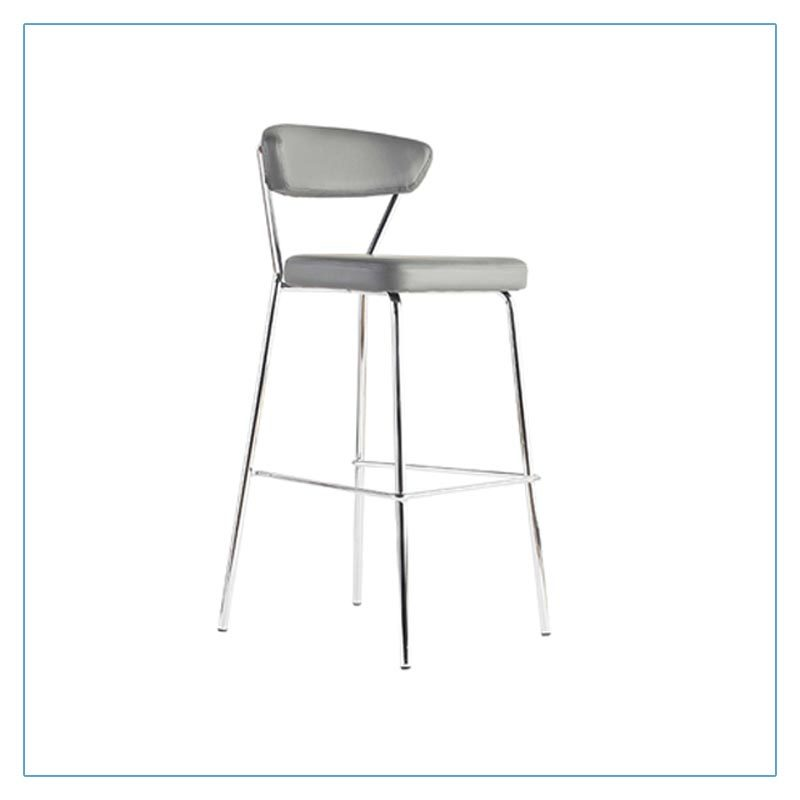 Draco Bar Stools - Gray - Trade Show Furniture Rentals from LV Exhibit Rentals in Las Vegas