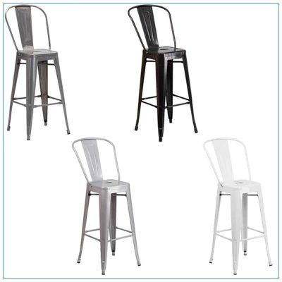 Eli Bar Stools - Trade Show Furniture Rentals from LV Exhibit Rentals in Las Vegas