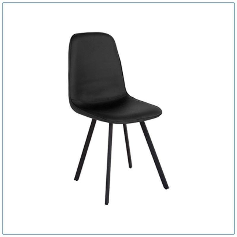 Flare Chairs - Black - LV Exhibit Rentals in Las Vegas