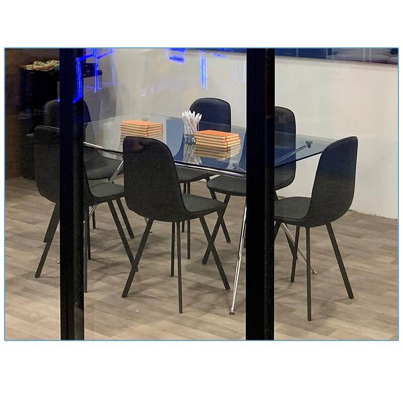 Flare Chairs in Black - LV Exhibit Rentals in Las Vegas