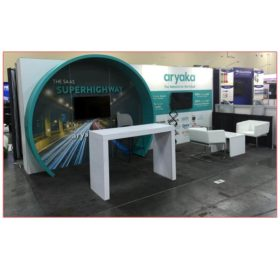 Format Bar Table - Aryaka - LV Exhibit Rentals in Las Vegas