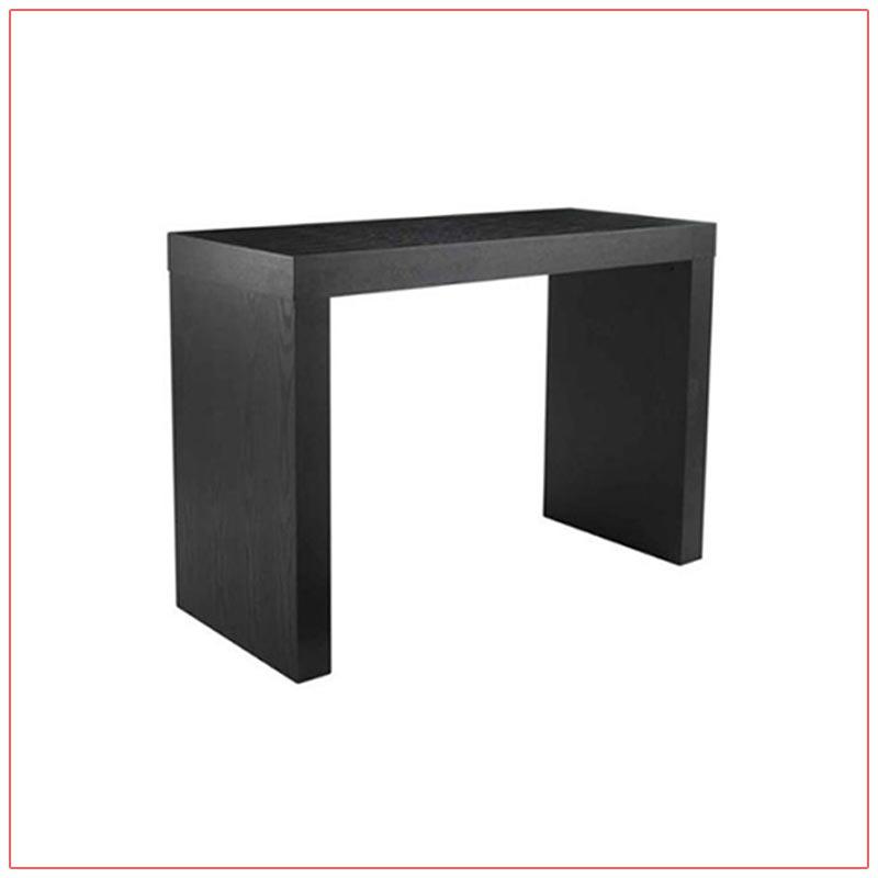Format Bar Table - Black - LV Exhibit Rentals in Las Vegas