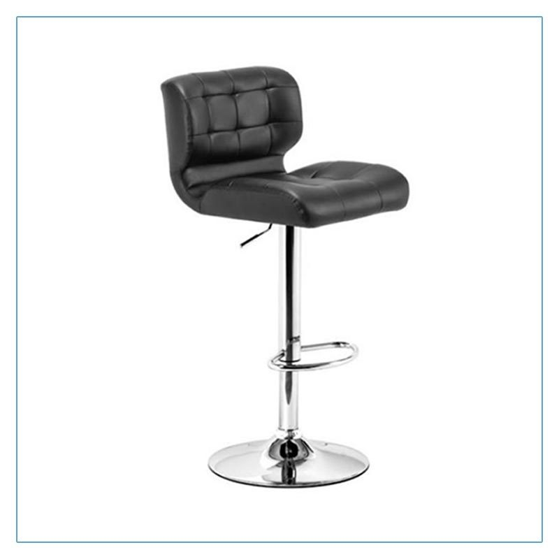 Formula Bar Stools - Black - Trade Show Furniture Rentals from LV Exhibit Rentals in Las Vegas